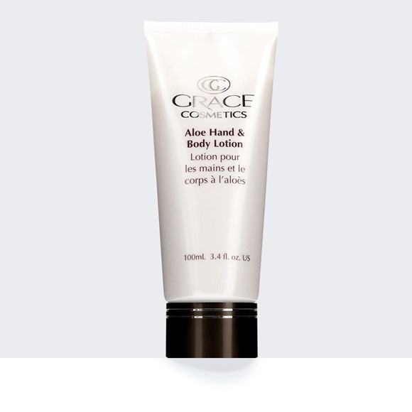 "Aloe Hand & Body Lotion <span style=""font-size:0.75em;"">100mL tube</span>"